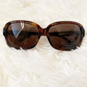 New Bvlgari brown women's sunglasses